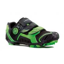 NIRVANA Negro-Verde Fluorescente
