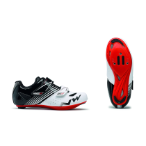 TORPEDO JUNIOR Blanco-Negro-Rojo