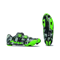 EXTREME XC Camu Refl.-Verde Fluo
