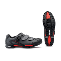 OUTCROSS PLUS GTX Membrana Pique Antracita-Rojo