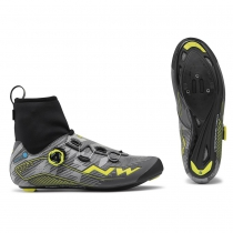 Zapatillas Ciclismo FLASH ARCTIC GTX Gore Tex Reflectante-Amarillo Fluo NORTHWAVE