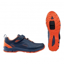 Zapatillas ciclismo ESCAPE EVO Azul-Naranja Lobster MTB-AM NORTHWAVE