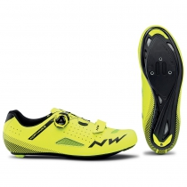Zapatillas ciclismo CORE PLUS Amarillo Fluo ROAD NORTHWAVE