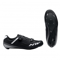Zapatillas ciclismo CORE PLUS WIDE Negro ROAD NORTHWAVE