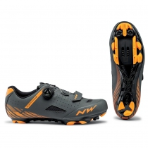 Zapatillas ciclismo ORIGIN PLUS Antracita-Naranja MTB-XC NORTHWAVE
