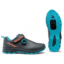 Zapatillas ciclismo CORSAIR WOMAN Antracita MTB-AM NORTHWAVE