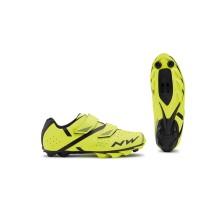 Zapatillas Northwave Spike 2 Amarilla Fluo Negra