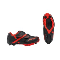 ZAPATILLAS NORTHWAVE HAMMER 2 NEGRA ROJO PARA JUNIOR