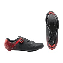 ZAPATILLAS NORTHWAVE CORE PLUS 2 NEGRA ROJO
