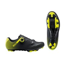 ORIGIN PLUS 2 Negro-Amarillo Fluo MTB