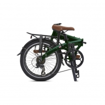 BICICLETA PLEGABLE JUNCTION 1507 COUNTRY BRITISH RACING GREEN  (guardabarros y portabultos) BICKERTON