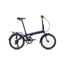 BICICLETA PLEGABLE JUNCTION 1507 COUNTRY ADMIRALTY BLUE (guardabarros y portabultos) BICKERTON