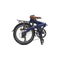 BICICLETA PLEGABLE BICICLETA PLEGABLE JUNCTION 1507 COUNTRY ADMIRALTY BLUE (guardabarros y portabultos) BICKERTON