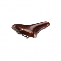 Sillin Brooks Swift Chrome Para Bicicleta Color Marron