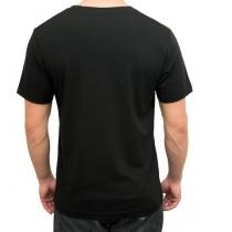 Camiseta Carver Manga Corta Unisex Logo Color Negro