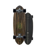 """SurfSkate Carver 30"""" Haedron Nº3 Con Ejes CX Color Graphite"""