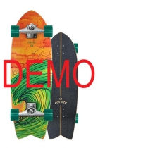 SurfSkate Carver Demo Swallow Con Ejes CX Raw