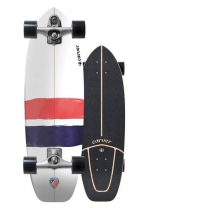 """SurfSkate Carver 32.25"""" USA Thruster Con Ejes C7 Color Raw"""