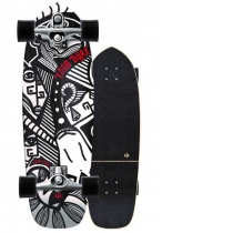 """SurfSkate Carver 30.75"""" Yago Skinny Goat Con Ejes C7 Raw"""
