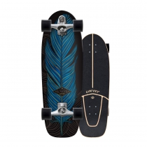 "SurfSkate Carver 31,25"" Knox Quill con Ejes C7 color Raw"