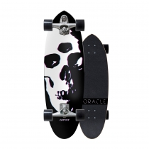 "SurfSkate Carver 31"" Oracle con Ejes C7 color Raw"