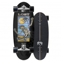"""SurfSkate Lost Carver 28"""" Bean Bag Con Ejes CX Raw"""