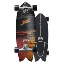 "SurfSkate Lost Carver 29"" Psycho Killer Con Ejes C7 Raw"