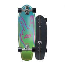 "SurfSkate Lost Carver 31"" Plank Con Ejes C7 Raw"