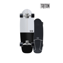 "SurfSkate Triton 30.5"" Black Star Con Ejes CX 6.0"