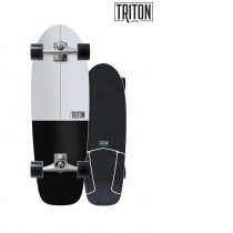 "SurfSkate Triton 30.5"" Black Star Con Ejes CX 6.0 Nº1"