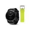 Reloj Garmin FENIX 5 S SAPPHIRE Negro con Correa Negra