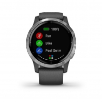 RELOJ GARMIN VIVOACTIVE 4 MUSIC Shadow Gray/Silver