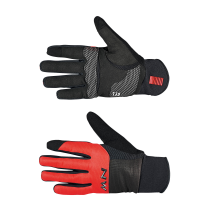 Guante NORTHWAVE  POWER 3 Gel Pad Negro-Rojo