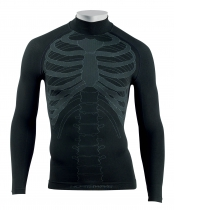 Camiseta Int. m/l BODY FIT EVO Negro NORTHWAVE