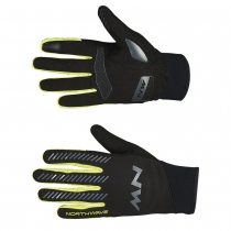 Guante Largo CORE MT Negro-Amarillo Fluo NORTHWAVE