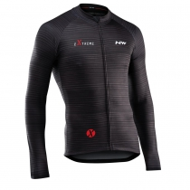 Maillot m/l EXTREME 4 Negro-Granate NORTHWAVE