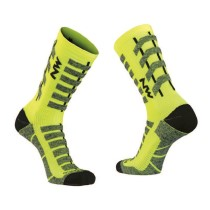 Calcetín HUSKY CERAMIC TECH Amarillo Fluo