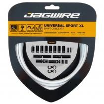 Kit SPORT XL cambio y desviador carretera/MTB SRAM/Shimano blanco JAGWIRE