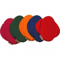 Funda de algodón para sillín LIKEABIKE KOKUA  ** Color Rojo**