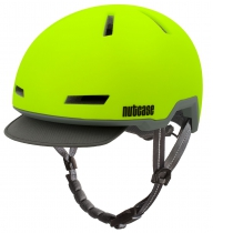 Casco Spark Yellow (Mate), Tracer de NUTCASE.