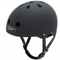 Casco Blackish (Mate), Street NUTCASE