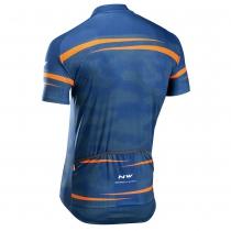 Maillot m/c ORIGIN Azul-Naranja