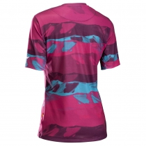 Maillots m/c XTRAIL WMN MTB Beetroot-Verde NORTHWAVE