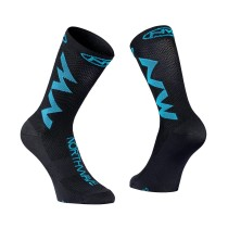 Calcetines EXTREME AIR Negro-Azul Sky NORTHWAVE