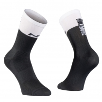 CALCETINES WORK LESS RIDE MORE NEGRO-BLANCO NORTHWAVE