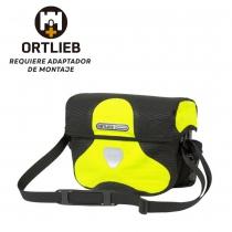 Bolsa Manillar Ortlieb Ultimate Six High Visibility Sin Adaptador 7L Amarillo Negro