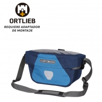 Bolsa Manillar Ortlieb Ultimate Six Plus Sin Adaptador 5L Azul Negro