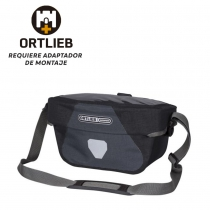 Bolsa Manillar Ortlieb Ultimate Six Plus Sin Adaptador 5L Asfalto