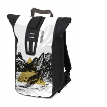 Mochila CITY ORTLIEB VELOCITY DESIGN Summit 24L Blanco-Negro