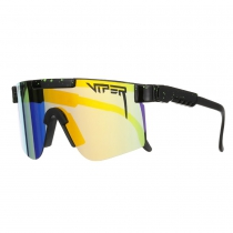 GAFAS THE MONSTER BULL DOUBLE WIDE Lente Polarizada Reflectante Naranja Revo